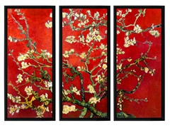 Van Gogh Red Almond Blossom (2-Sizes)