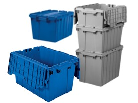 Tote with Hinged Lid, Case of 6 - Your Choice