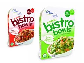 8-Pack Plum Tots Bistro Bowl 2-Flavors
