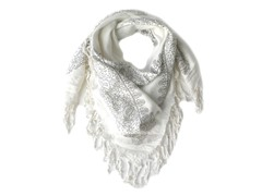 Kitara  Soft Spring Square Scarf Soft Grey