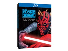 The Clone Wars Season 4 [Blu-ray]