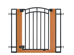 Extra Tall Wood/Metal Walk-Thru Gate