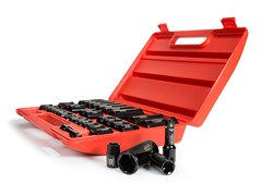3/8-Inch and 1/2-Inch Drive Impact Socket Set