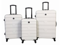Sharper Image Search Hardside Luggage Set - Fog