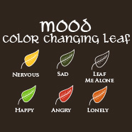 This is my MOOD leaf