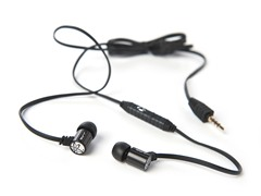 JBuds J4M Rugged Metal Earphones w/ Mic