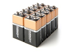 Duracell 9V Alkaline Batteries- 10 Pack