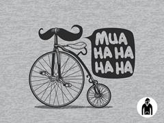 Evil Bike is Evil Pullover Hoodie