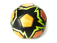 OGLO Soccer Ball- Orange/Yellow