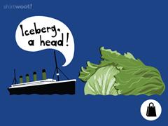 Iceberg, A Head! Tote