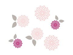 Wall Decal Set - Sweet Primrose