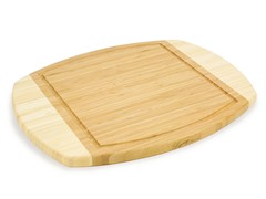 "Picnic Time 15"" Ovale Cutting Board"
