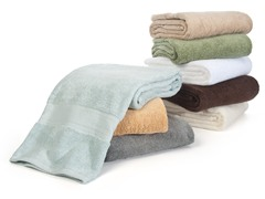 Microcotton 6-Pc Towel Set - 6 Colors