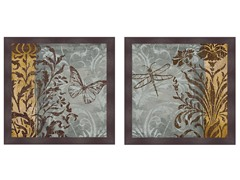 Butterfly and Dragonfly Set of 2