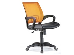 Lumisource Officer Chair- Tangerine