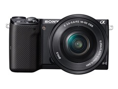 Sony 16.1MP Mirrorless DSLR w/ 16-50mm Lens