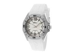 Elini Barokas White Silicone Ladies Watch