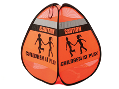 Pop Up Children at Play Sign