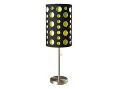 "33"" Black-Yellow Table Lamp"
