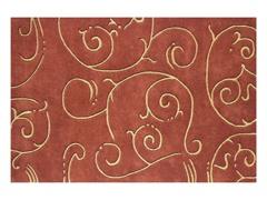 Sabrina Geometric Rust 5x8