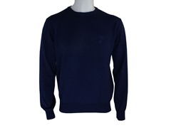 Versace Crew Neck Sweater, Navy