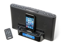Sony Speaker Dock w/Alarm Clock & Radio