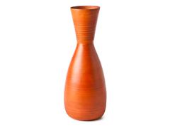 Modern Bamboo Vase - Pumpkin