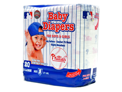 Philadelphia Phillies Diapers(160-192ct)