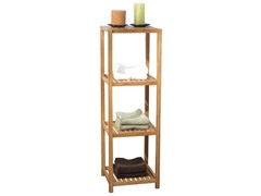 TMS Bamboo 4-Tier Vertical Shelf