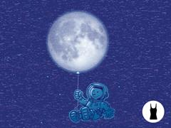 Blue Balloon Tri-Blend Tank