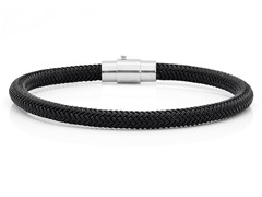 Black IP Cable Bracelet