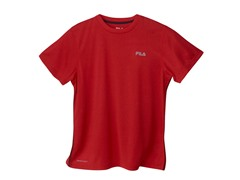 Boys Heathered Bright Tee - Red