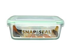 Snap & Seal 28oz. Rectangular Container
