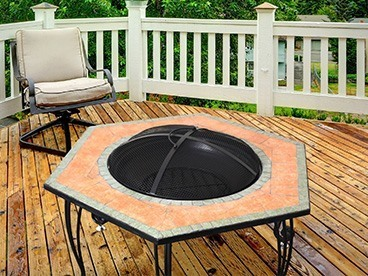 Astella Wood Burning Fire Pits