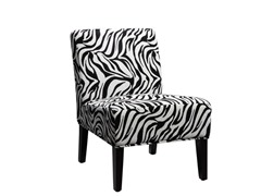 Sanibel Zebra Accent Chair