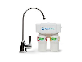 2-Stage Water Filter with Chrome Faucet