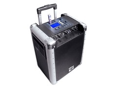 Portable PA System with Recharge Batt/USB/AUX/DJ Control