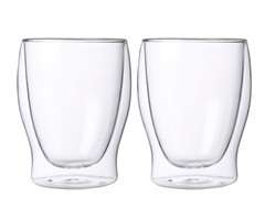 Luigi Bormioli Double Wall 12oz Glasses