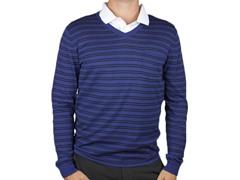 Berkeley Black/Blue Sweater