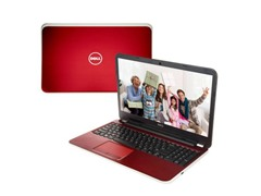 "Dell 15.6"" Intel i7 Laptop - Fire Red"