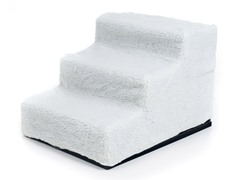 Deluxe Dog Pet Step Stairs with Washable Cover