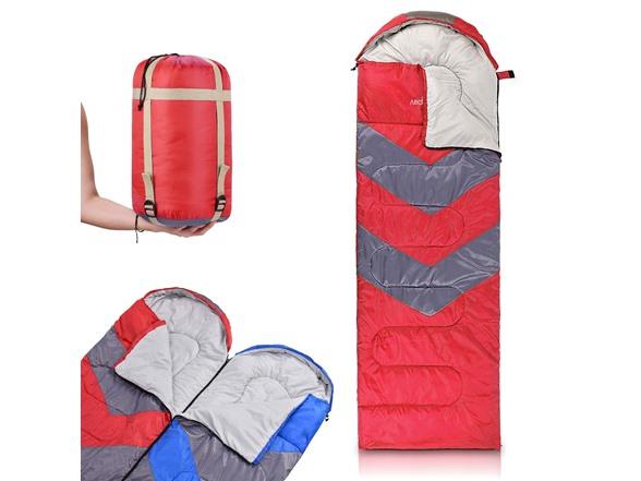 Image of Abco Tech Sleeping Bag With Hood