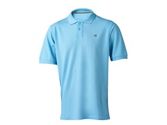 Men's Logo Polo - Caribe Blue
