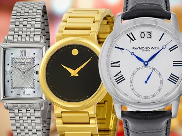 Movado and Raymond Weil Watches