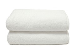 700GSM Soft Twist Bath Sheets-S/2-White