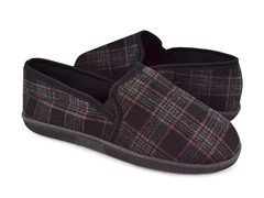 Men's MUK LUKS ® Plaid Slip-On Slippers
