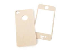 Mootoe Wood Cover for iPhone 4/4S - Maple