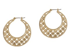 Relic RJ1500710 Gold Hoop Earrings