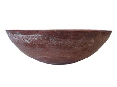 Natural Stone Vessel Sink, Red