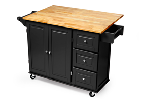 Three Drawer Kitchen Cart (2 Colors)